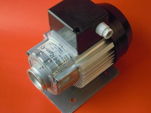 MOTORE RPM 230V 50HZ 245W 2,35A 1320//min ORARIO *