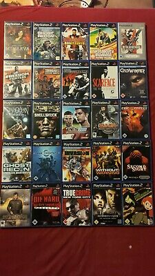 25 Playstation 2 GAMES, GAMES Ps2 video games, Sony Collection, Shellshock, Scar  | eBay