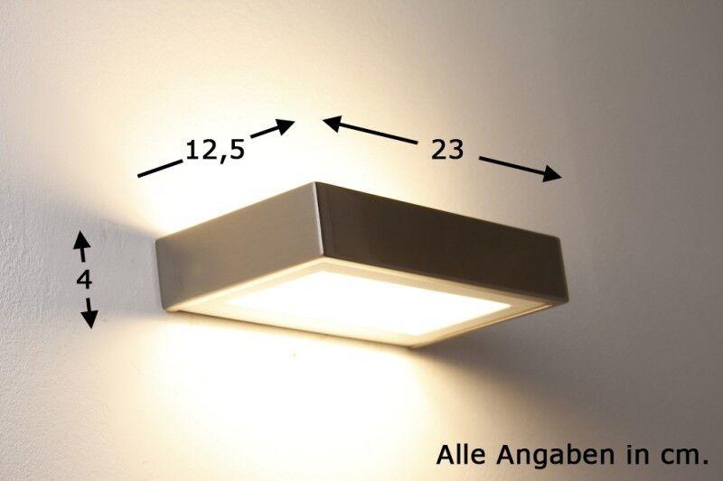 Design Flurlampe LED Wandleuchte Lampe Wandstrahler Leuchte Wandlampe Lampen NEU