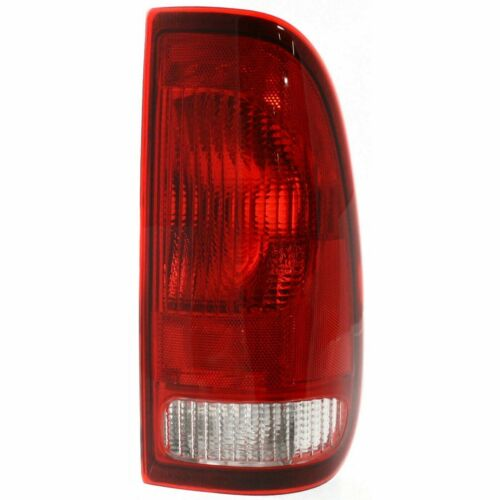 Set of 2 Tail Lights  Clear /& Red Lens For Ford F-150 97-03 SUPER DUTY 99-07