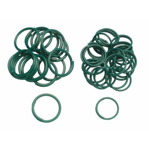 VERDEMAX legacci x legare le piante anelli filo metallico 25 mm 4544 50 pz new