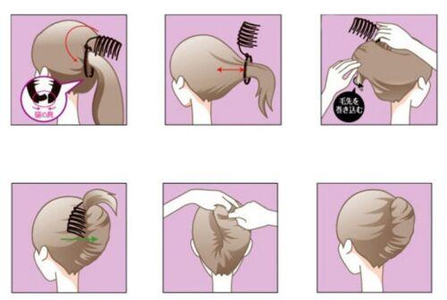 1x DIY Haar Hochsteckfrisur Kamm-Kamm-Werkzeug-Set für HairTwist ZDDE
