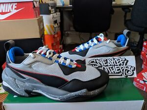 Puma Thunder Electric Grey Violet Black Red White Blue Training ... 76ec8470d