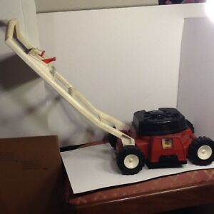 Vintage Fisher Price Lawn Mower 1985 Fisher Price Bubble