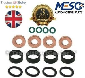 Fuel Injector Joint Rondelle O-Ring Kit pour CITROEN C5 1.6 HDI 2002 Sur