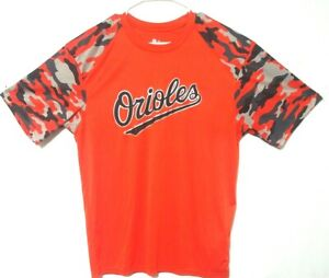BALTIMORE-ORIOLES-Adult-TEE-SHIRT-Large-Badger-Sport-100-polyester