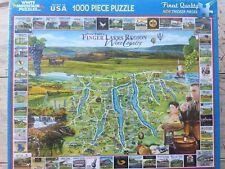 White Mountain Puzzles Finger Lakes 1182 1000 Piece Jigsaw Puzzle Inc