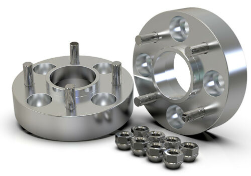 40MM 4X108 63.4MM HUBCENTRIC WHEEL SPACER KIT UK MADE FORD FIESTA FOCUS MONDEO