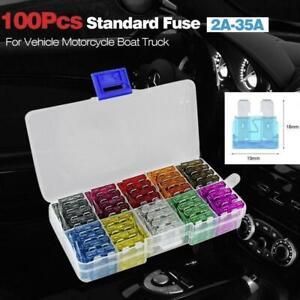 Car-Fuses-50-100pcs-Assorted-Standard-Blade-Fuse-Set-2A-35A-5-10pcs-each-G7G6