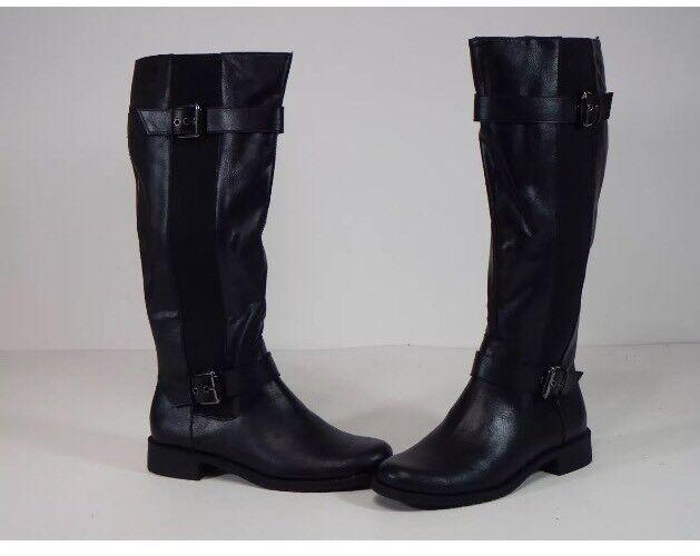Damens's Stiefel UK 6M Aerosoles Ride Our Knee Length Größe Zipper And Buckles