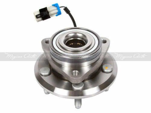 2 New Front Left//Right Wheel Hub Bearing Assembly w// ABS GMB 730-0382