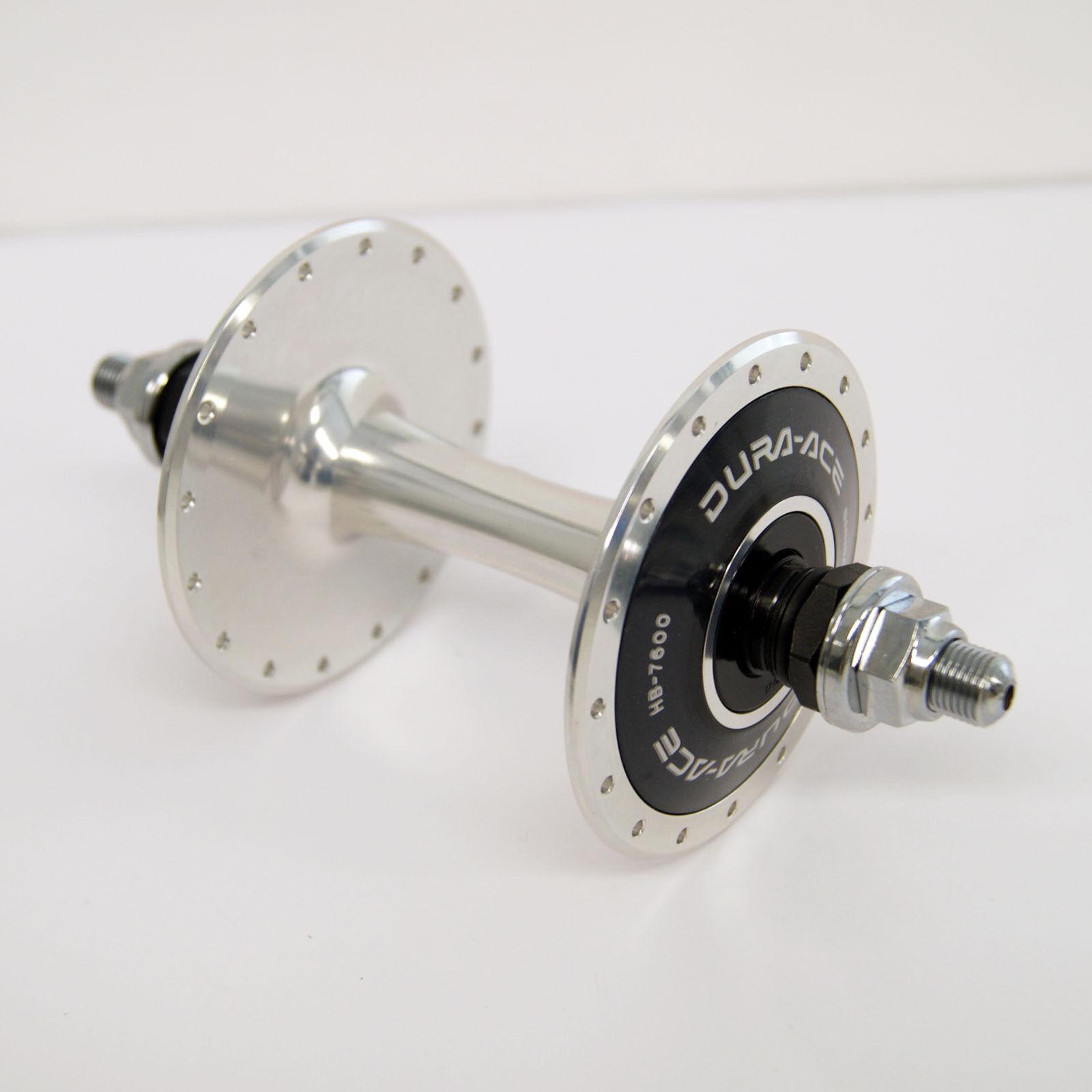 Shimano Dura-Ace Pista Hb-7600 32h (Singolo, 10 mm) Posteriore Hub Ihb7600br2so