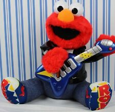 2010 Fisher Price Sesame Street ROCK AND ROLL ELMO playing the Guitar