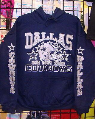 competitive price 1f0f0 f0780 DALLAS COWBOYS, Navy BLUE Sweatshirt/HOODIE S, M, L, XL, 2XL ...