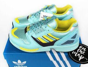 Adidas-Originals-ZX8000-Light-Aqua-Green-Shock-Yellow-UK-4-5-6-7-8-9-10-11-12-13