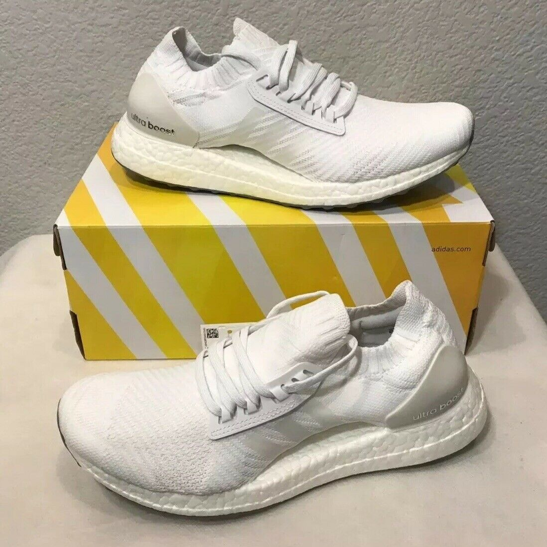 New Women's Adidas UltraBOOST X shoes WhiteBB6161Size 8.5