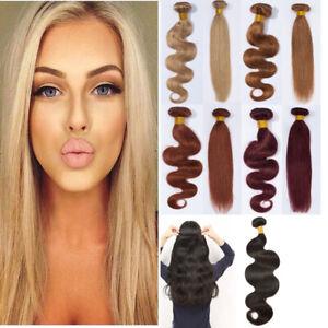 7A-Brazilian-Virgin-Human-Hair-Extensions-Weave-Weft-3-Bundles-Body-Wave-Ombre-C
