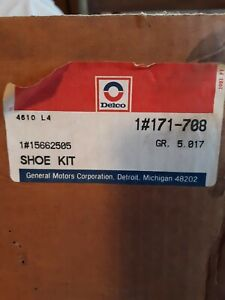 OEM 5662505-3 Available SURFACE RUST ACDelco 171-708 Drum Brake Shoe Kit