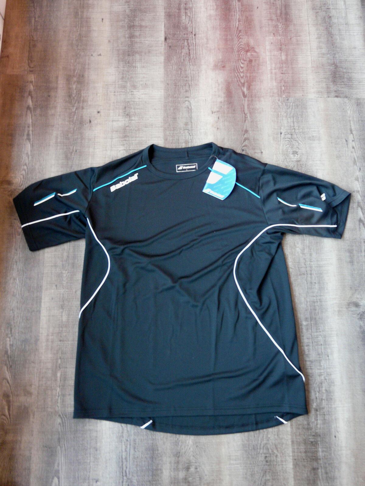 Babolat T-Shirt Match Match Match Core Men Schwarz L XL NEU dc249a