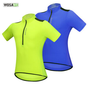Mens-Cycling-Clearance-Jersey-Short-Sleeve-MTB-Road-Bike-Tops-Sportswear-Shirt