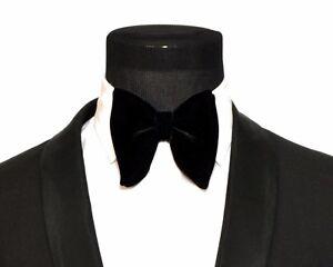 Big Velvet Bow Tie Oversized