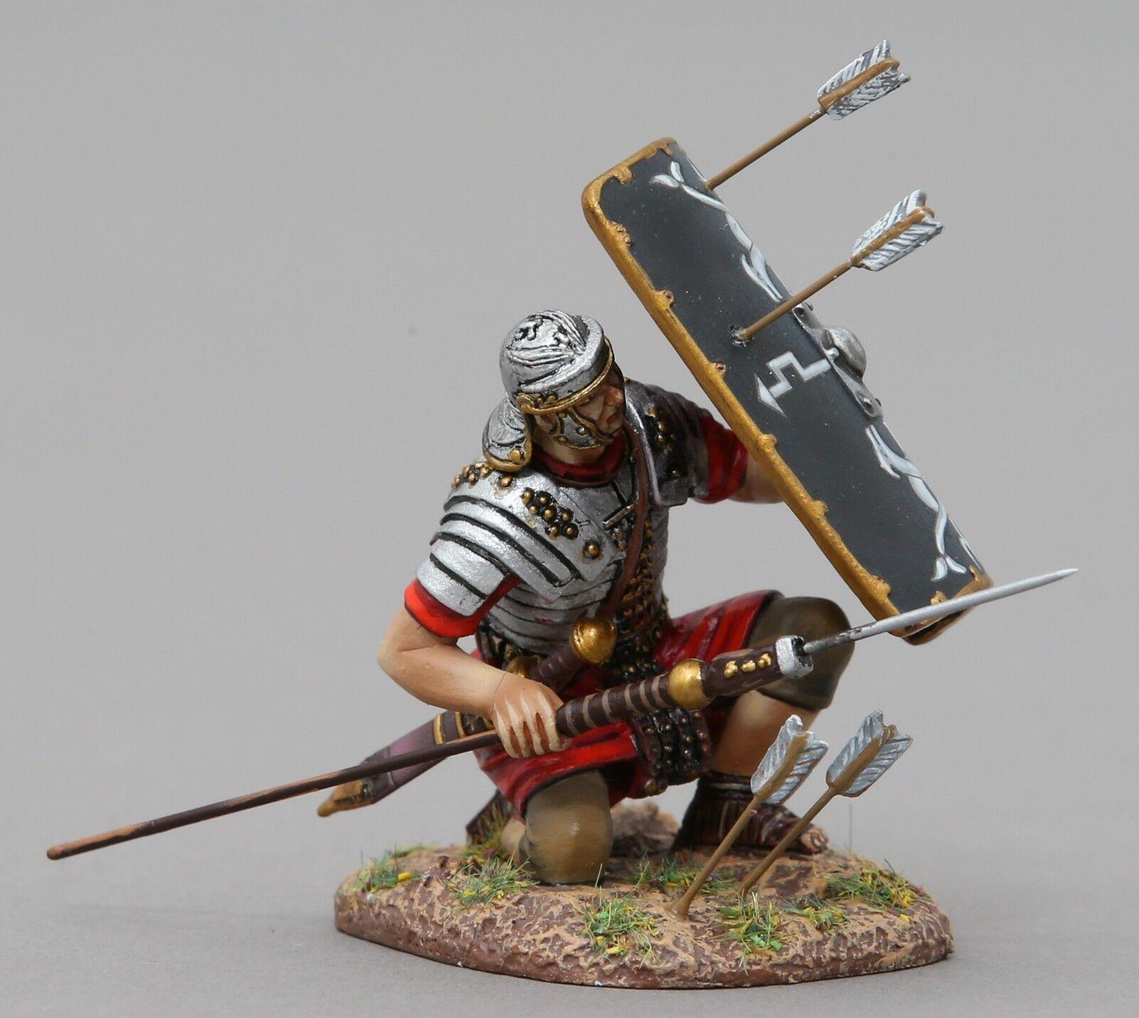 Thomas Gunn Roman Empire ROM105B 30th Legionär Kniend mit Pilum Schwarz MIB
