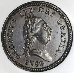 1786-NGC-AU-53-Isle-of-Man-Penny-George-III-Great-Britain-Coin-20042301C
