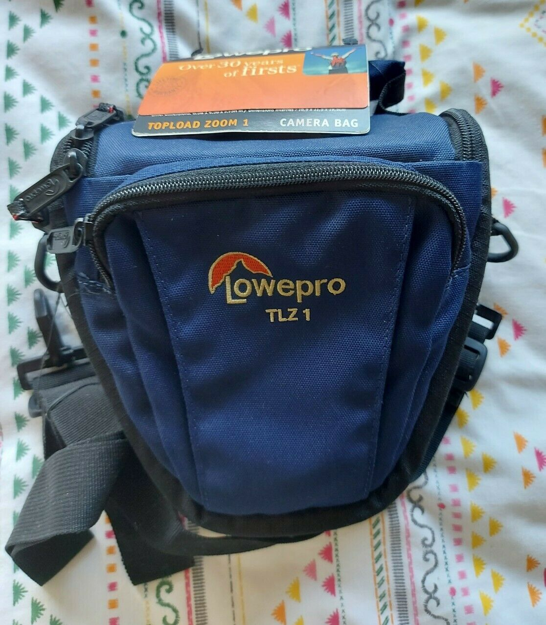 NEW LOWEPRO TLZ 1 Topload Zoom 1 Camera Bag - Navy Blue