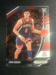 H22 2020-21 Panini Prizm Draft Picks JOSH GREEN Mavericks RC Rookie Base Card 61