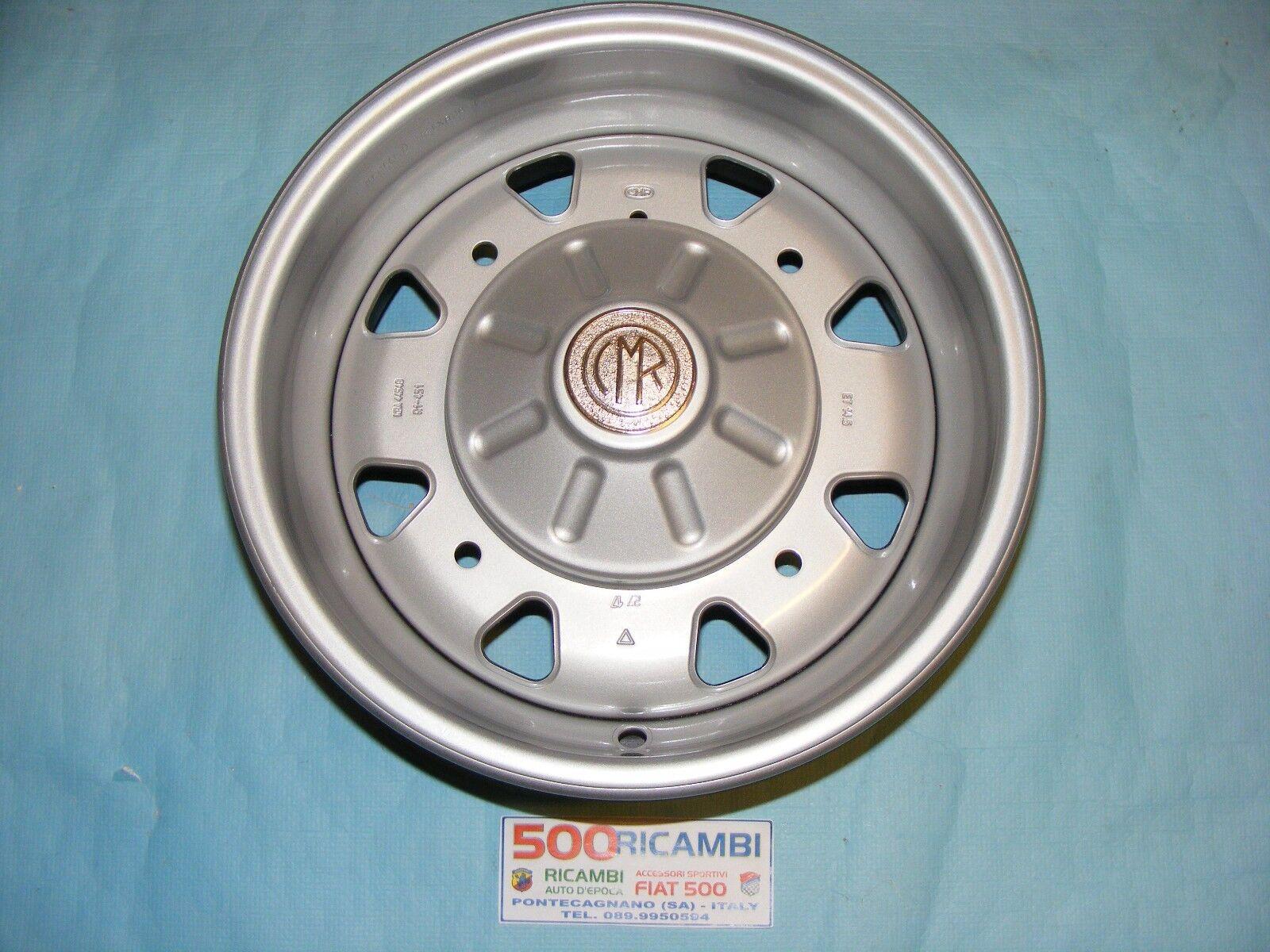Fiat 500 D F L Series 4 Circles Iron Cmr 4 5 X 12 Replica Abarth 595