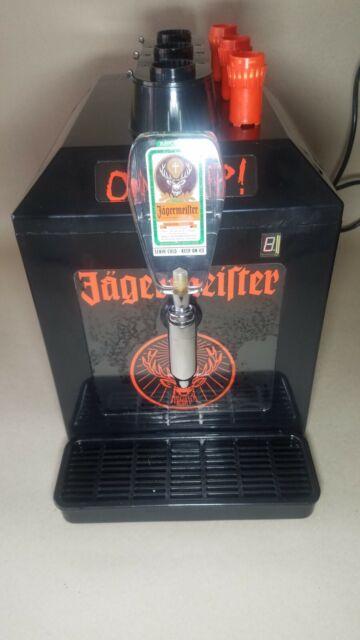 The Jagermeister Tap Machine 3 Bottle Shot Chiller Model ...