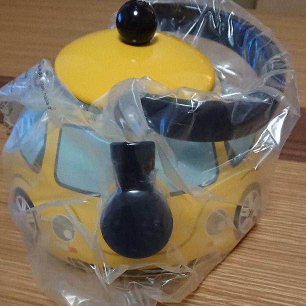 Volkswagen Original New Beetle Bouilloire jaune avec boite non vendus dans les boutiques