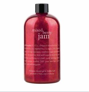 philosophy-3-in-1-shampoo-shower-gel-bubble-bath-mixed-berry-jam-NEW