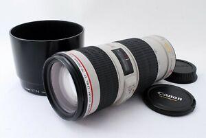 como-nuevo-Canon-EF-70-200mm-f-4-IS-USM-L-Lente-Teleobjetivo-Con-Capucha