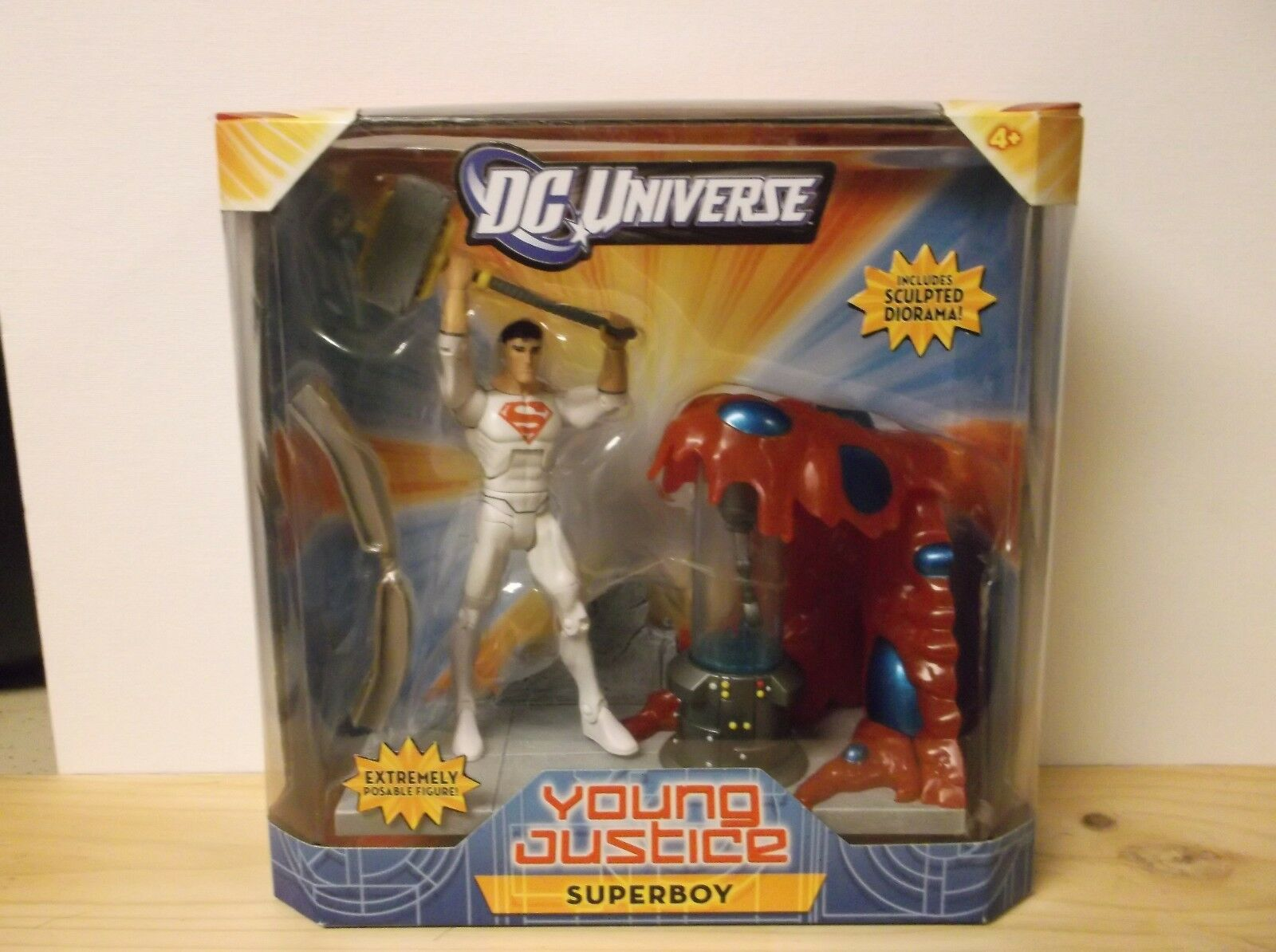 DC Universe Young Young Young Justice Superboy figure e3f265