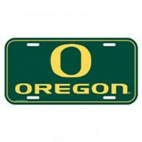 Oregon Ducks License Plate