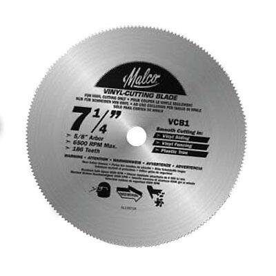 Malco Vcb1 7 1 4 Quot Vinyl Cutting Circular Saw Blade