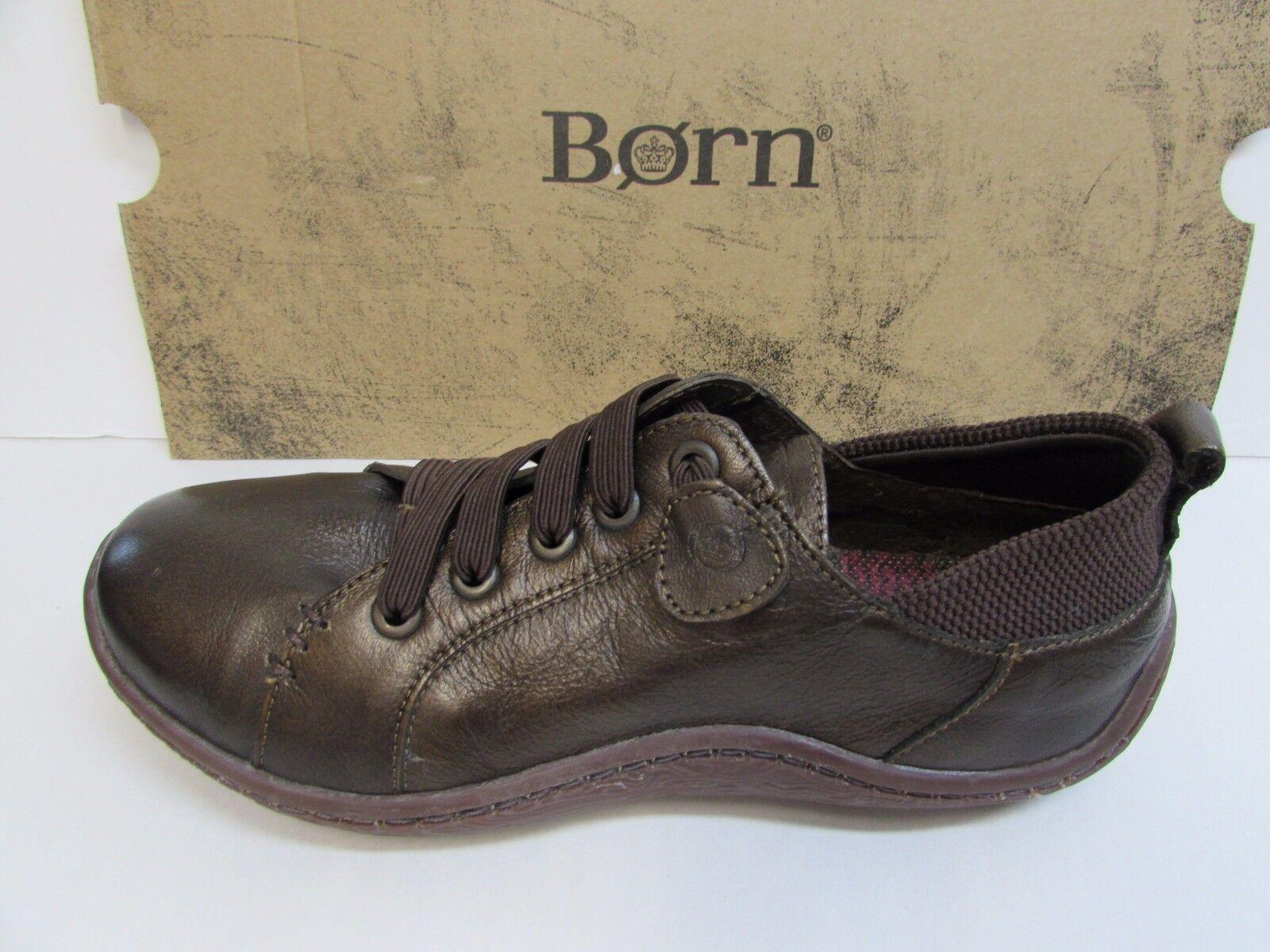 Born Größe 6.5 Braun Lace Up NEU Damenschuhe Schuhes