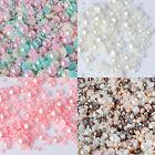 2000Pc Mixed Flat Back Pearls Rhinestones Embellishments Card Making Phone Decor
