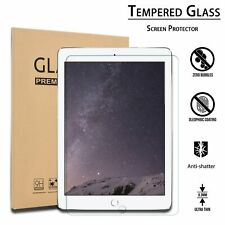 2-Pack Tempered Glass Screen Protector for iPad 9.7 Pro 5th 6th Air 2nd Gen 10.5