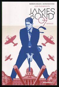 James-Bond-Service-One-Shot-Trade-Paperback-TPB-Ian-Fleming-007-Spy-New-amp-Unread