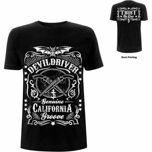 DEVILDRIVER Sawed Off Soft Slim Fit T-Shirt Men/'s Cotton Size S-3XL