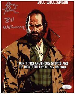 Steve Palmer Autograph Signed 8x10 Photo - Red Dead Redemption 2 (JSA COA)