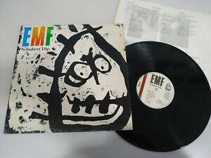 """Emf Schubert Dip 1991 Parlophone Spain Edit - LP 12 """" Vinyl VG/VG - 2T"""