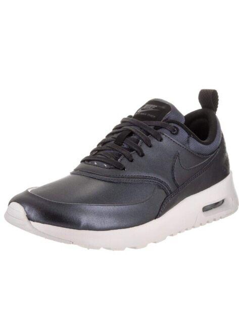 Nike Air Max Thea SE 861674 002 New Women's Metallic Hematite Running Shoes 8
