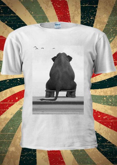 Cute Elephant Heartbroken Poor Tumblr Fashion T Shirt Men Women Unisex 1612