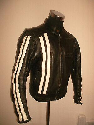 Sezione Speciale Vintage La Tienda Custom Malaga Giacca Moto Oldschool Motorcycle Jacket S (m)-mostra Il Titolo Originale Essere Distribuiti In Tutto Il Mondo