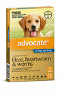 advocate Blue Flea & Worm Control for Dogs Over 25 kg