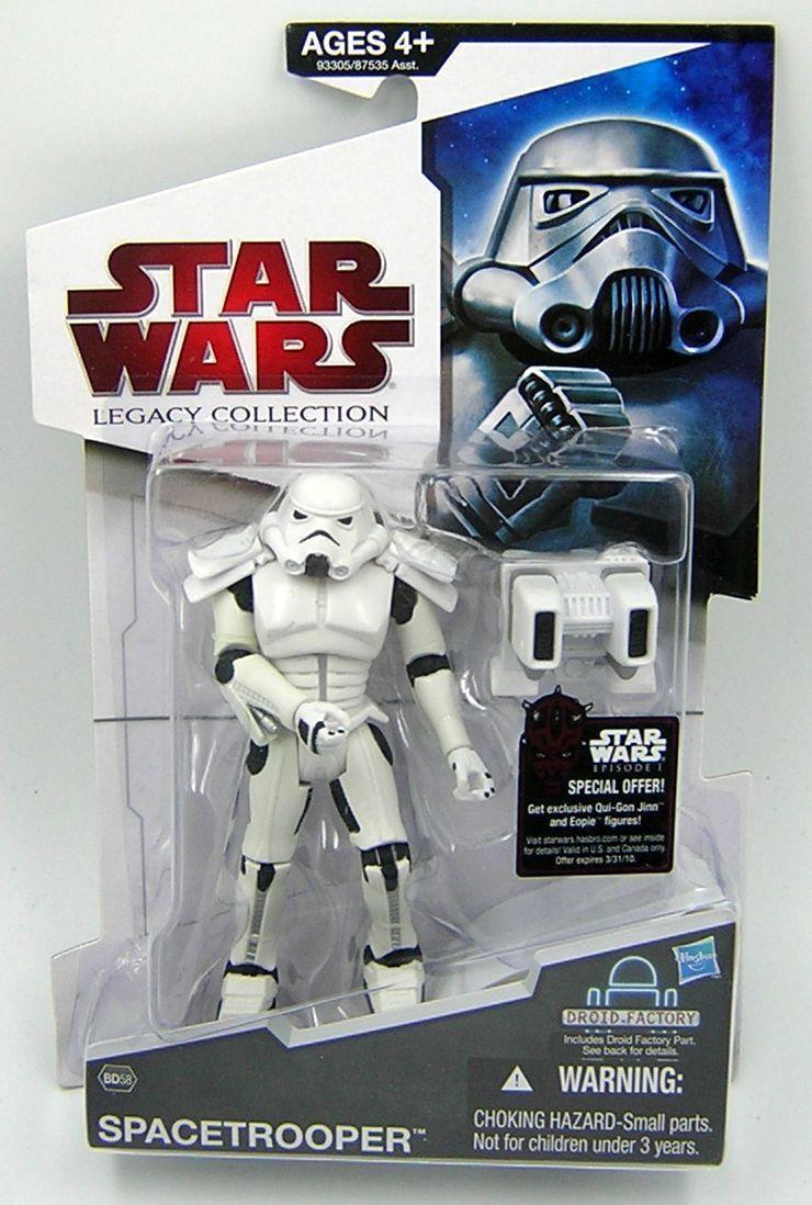 Star Wars Legacy  Collection BD58 Spacetrooper ( Expanded Universe ) RARE  économiser sur le dédouanement