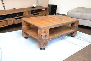 tisch wohnzimmertisch couchtisch aus europaletten ebay. Black Bedroom Furniture Sets. Home Design Ideas
